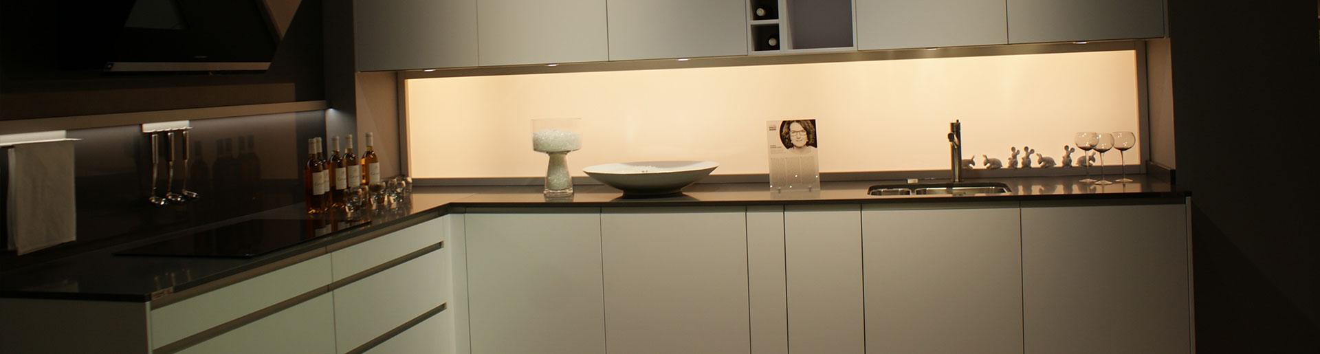 Beige Küche im Küchenstudio Cottbus