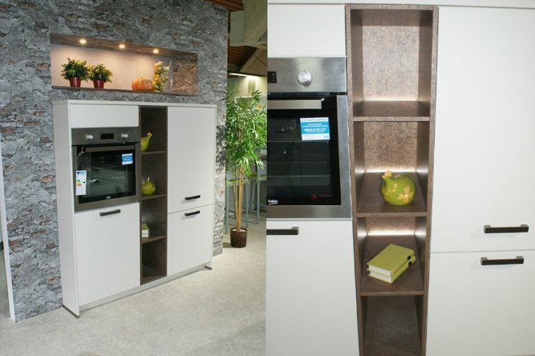 Angebotsküche Touch Hochschrank Regal Herd Küchenstudio Cottbus