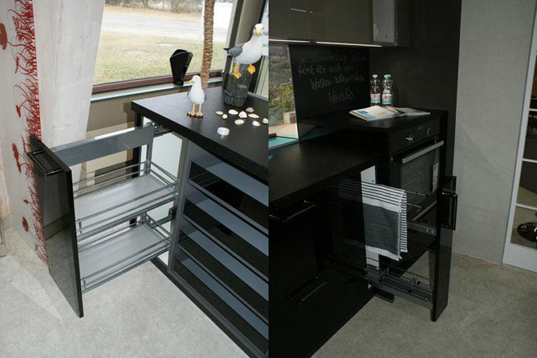 Angebotsküche Xeno Schubfächer Küchenstudio Cottbus
