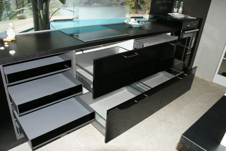 Angebotsküche Xeno Schubladensystem Küchenstudio Cottbus